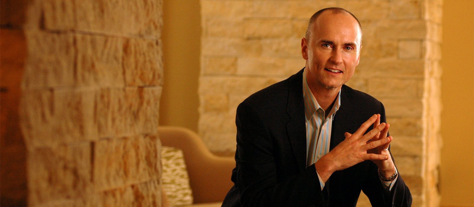 AirBNB's Head of Global Hospitality Chip Conley Speaks at Belmont