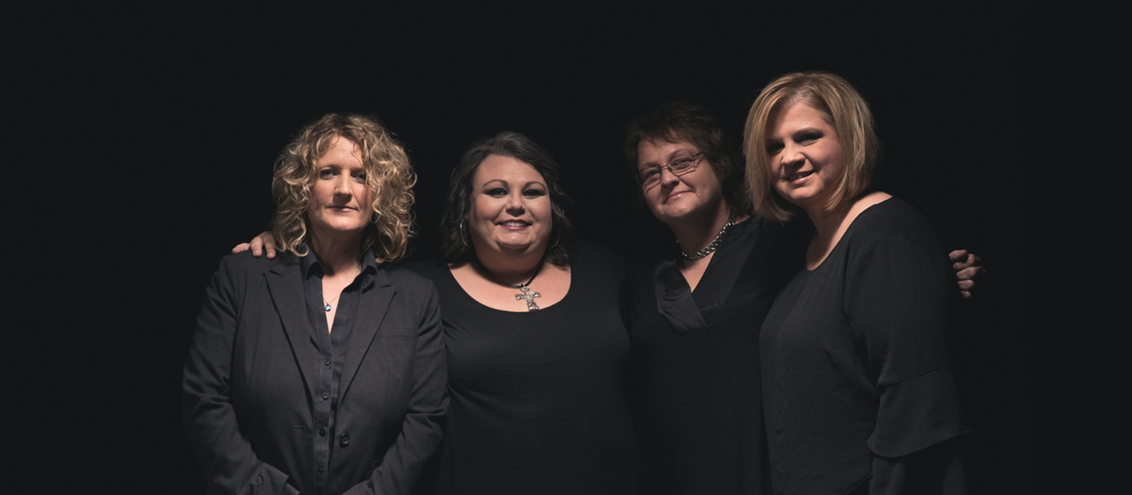 Group photo of Dishman's Band Sister Sadie
