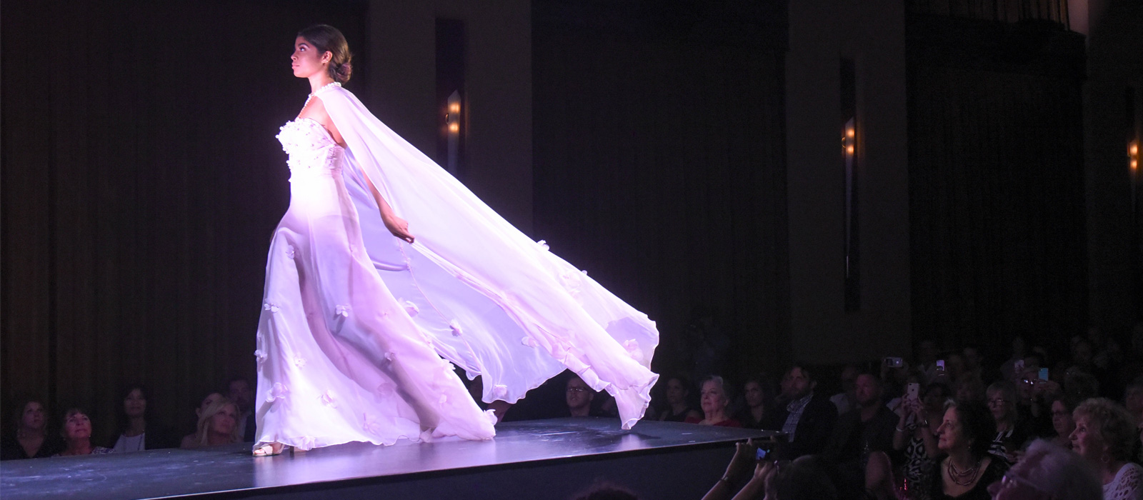 O'More Fashion Show Dazzles Crowd at Packed Franklin Theatre