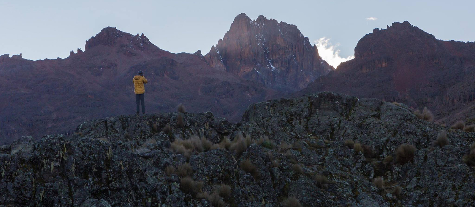 Philosophy Student Documents East African Mountain Guides with Summer Project