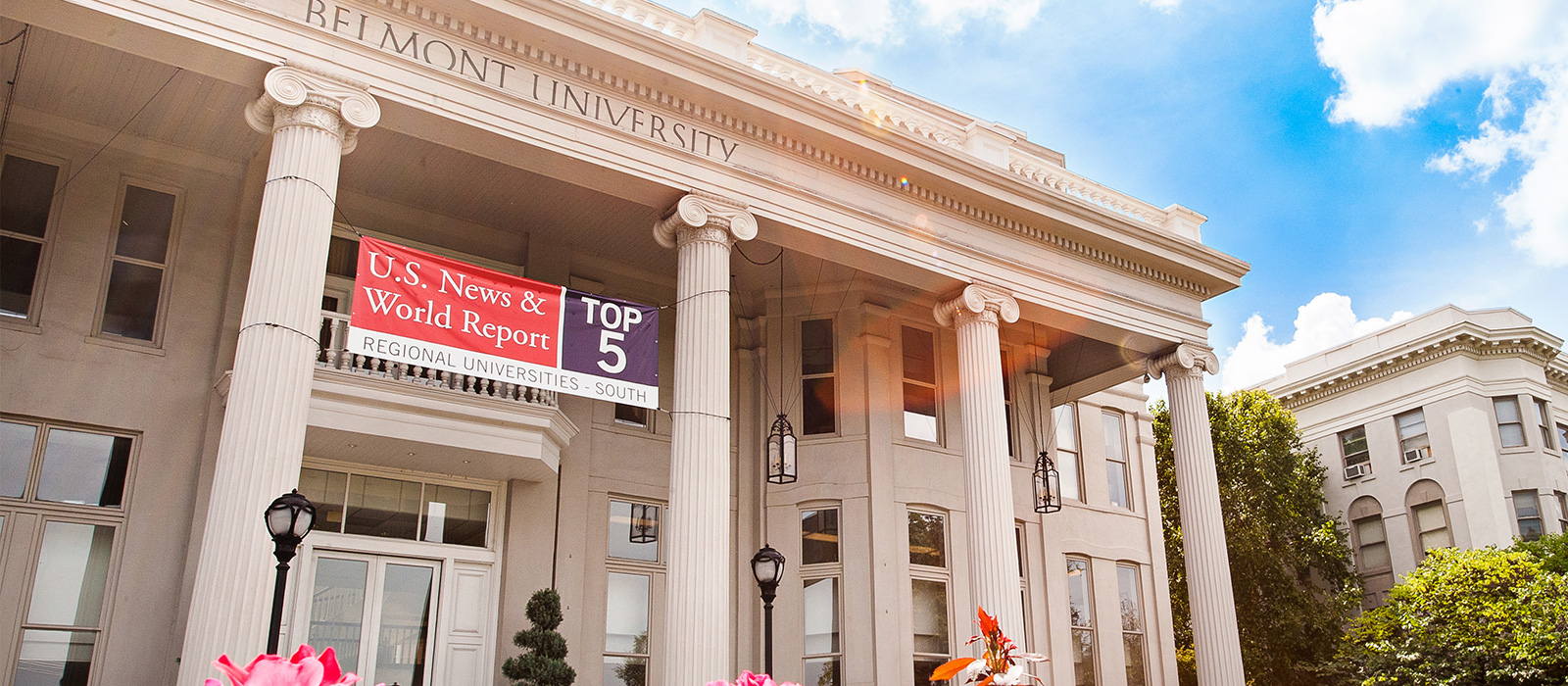Top 5! Belmont University Lands Near Top of Annual U.S. News Rankings of Southern Colleges