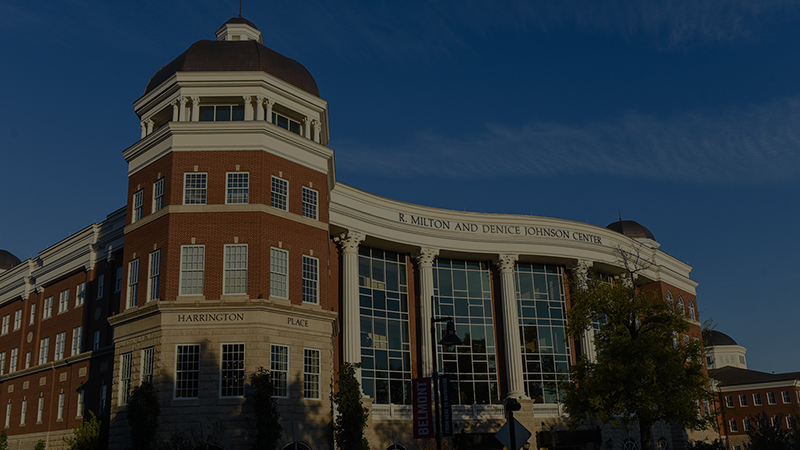 A photo of the Johnson Center